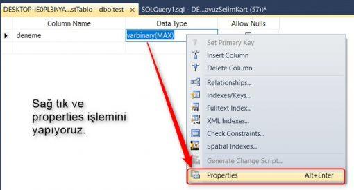 SQL Server'da Tablodaki Bir Alana Default Tarih Değerini Getirmek