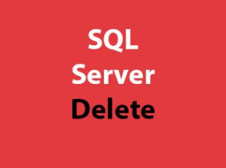 SQL Server Delete