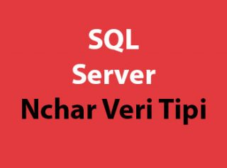 SQL Server Nchar Veri Tipi
