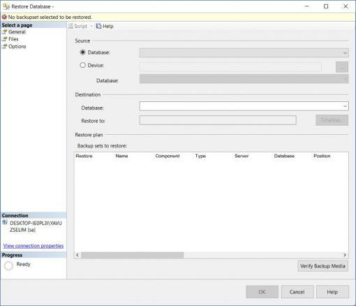 SQL Server'da Northwind Veritabanı Yükleme