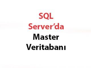 SQL Server'da Master Veritabanı