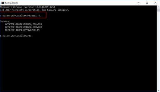 SQL Server'da Unutulan Sa Şifresini Değiştirmek