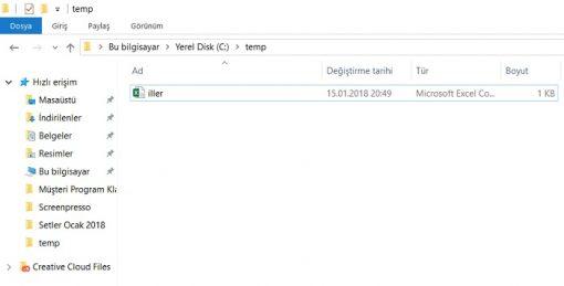 SQL Server'da Bulk Insert ile Veri Aktarımı