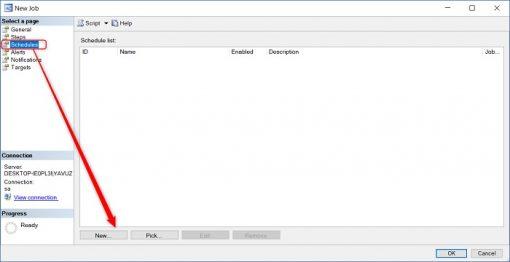SQL Server'da Agent Kullanarak Job Oluşturma İşlemi