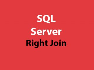 SQL Server Right Join