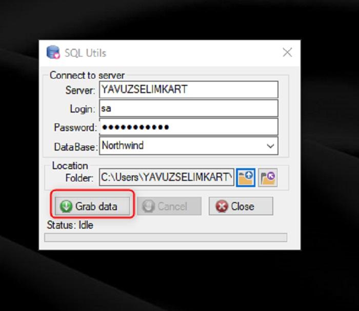 SQL Server'da Tüm Prosedürleri Export Etmek